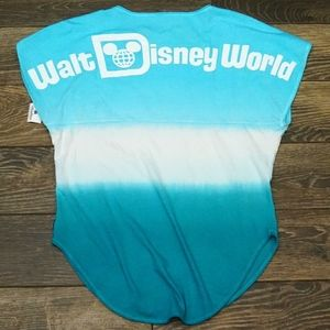 Disney Blue Tie-Dye Short Sleeve Spirit Jersey